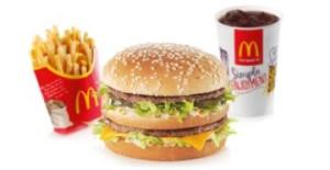 Блюда Макдональдса