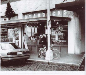 Первая кофейня Starbaks