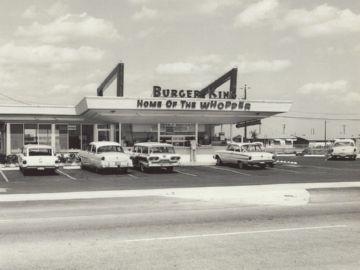 Первый ресторан Бургер Кинг