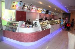 Продажа мороженого в Баскин Роббинс