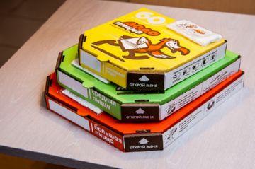 Размер пиццы