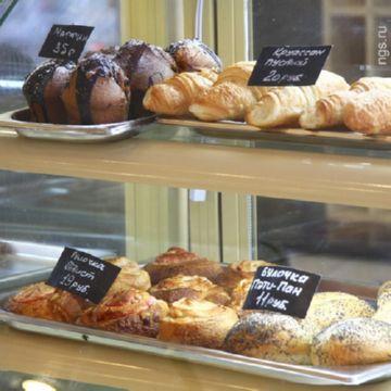 Витрина «Бельгийские пекарни»