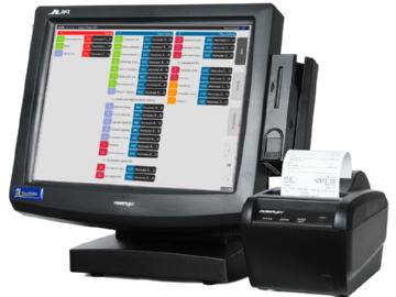 Компьютер с установленной программой