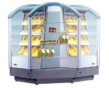 Необычная холодильная горка