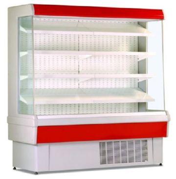 Пристенная холодильная горка