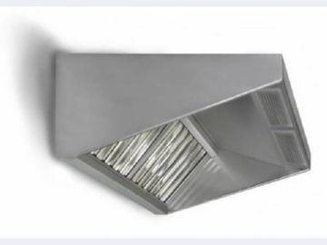 Вытяжной зонт из нержавеющей стали