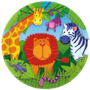 Бумажная тарелка для детей