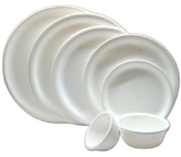 Тарелки из полистирола