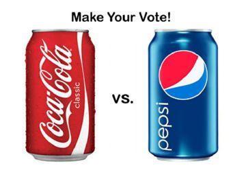 Выбор между Пепси и Колой