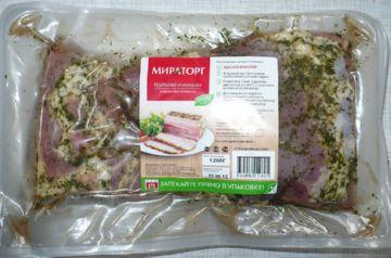 Свиная грудинка в специях «Мираторг»