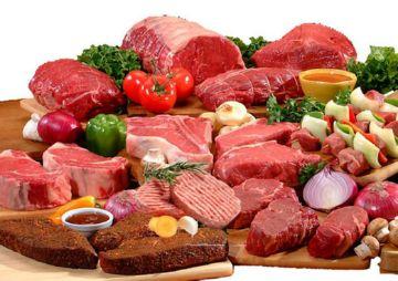Разные виды мяса
