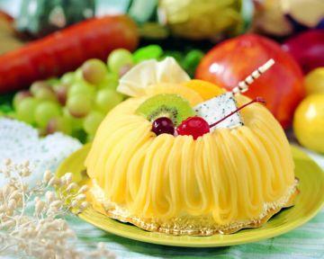 десерт с шафраном