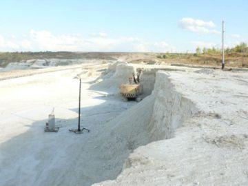 добыча мела в России