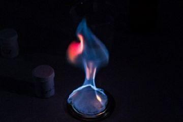 сжигание газа
