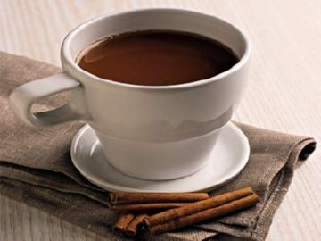 Чашка горячего шоколада