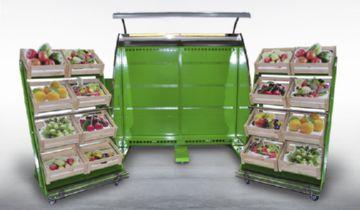 Дизайн холодильных витрин