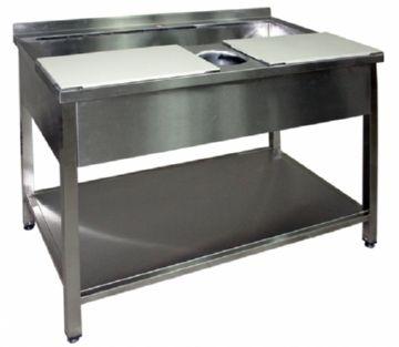 Стол для обработки мяса и рыбы