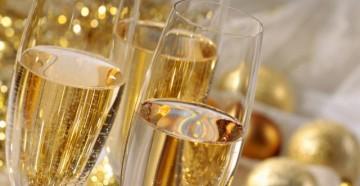 Бокалы под шампанское
