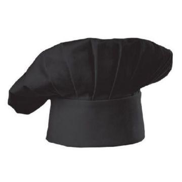 Черный поварской колпак
