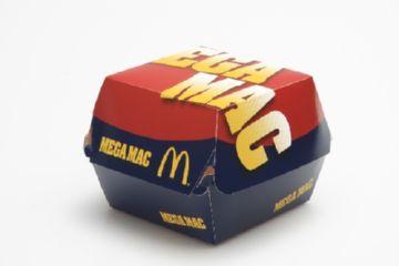 Коробка под гамбургер