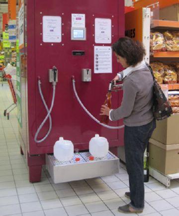 Вино из автомата