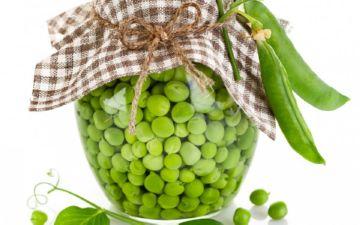 зеленый горошек с Е133